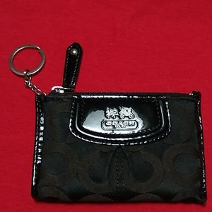 Coach key and ID wallet.